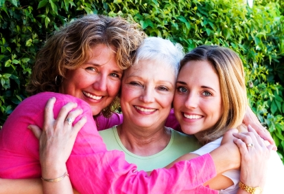 Grandmother-mother-daughter